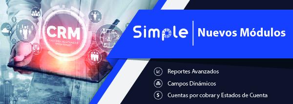 Nuevos módulos Vtiger CRM Simple Sistemas